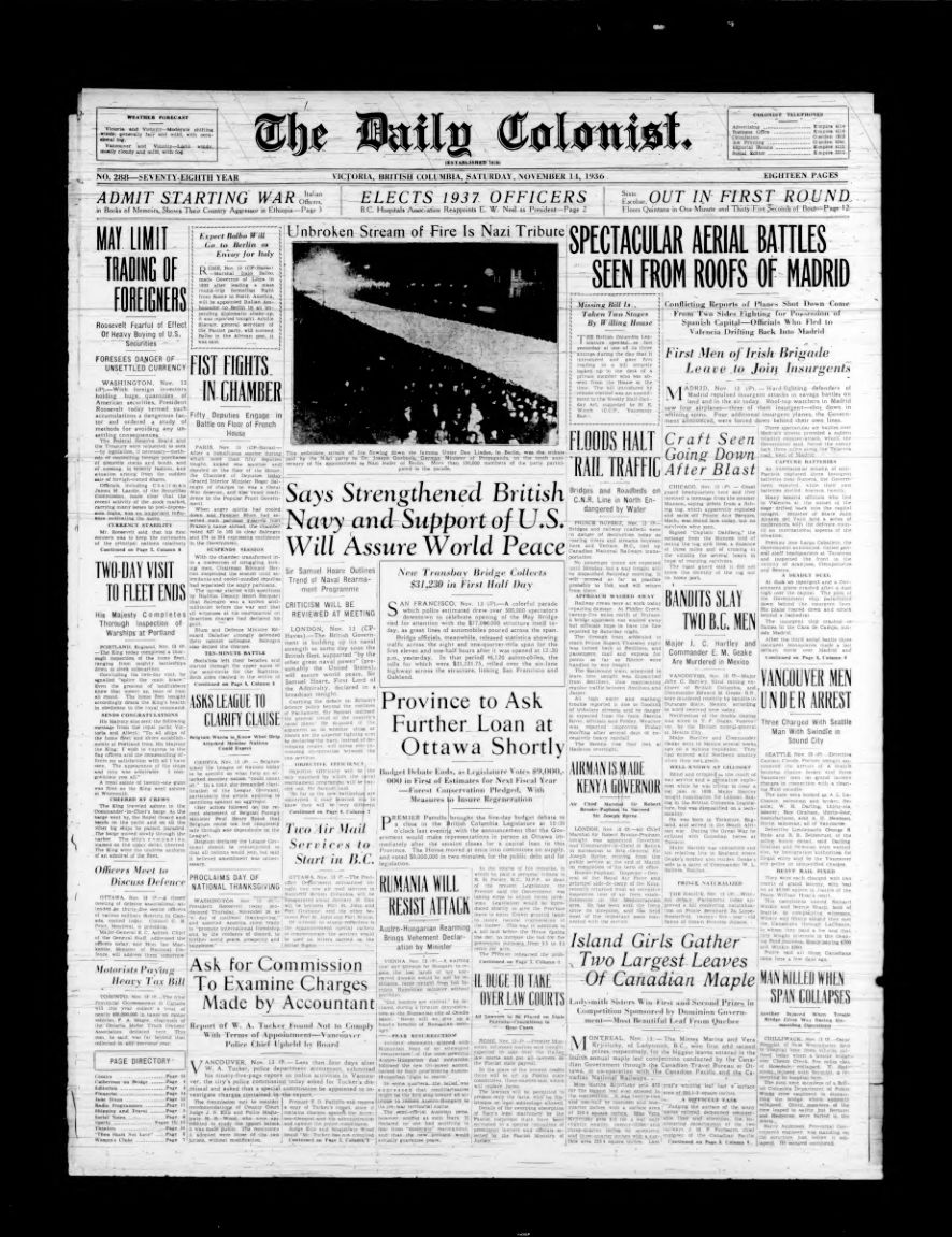 The Daily Colonist (1936-11-14)