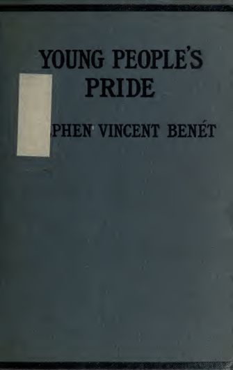 Young people's pride : a novel