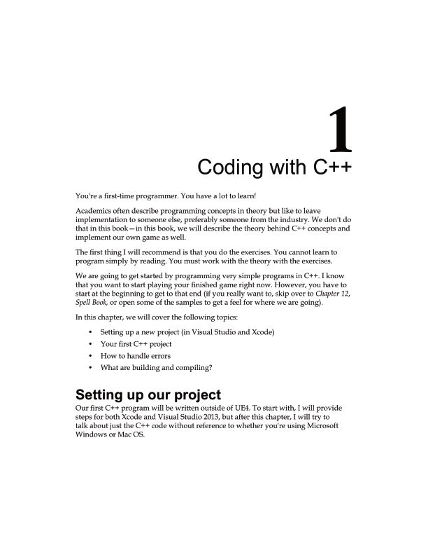 Chapter 1: Coding with C++   Page 8