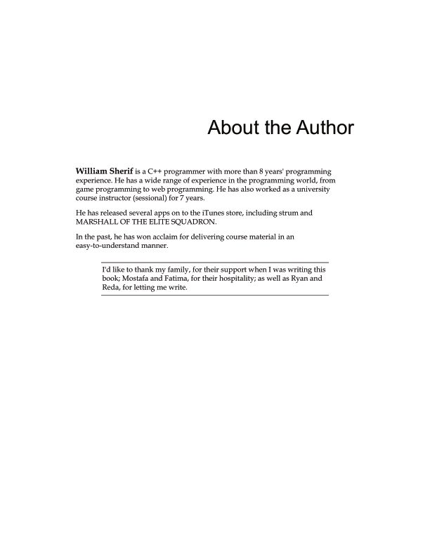 About the Author   Page 3