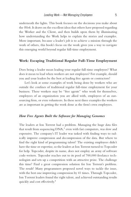 Work: Escaping Traditional Regular Full-Time Employment   Page 9