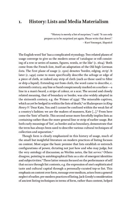 1.History: Lists and Media Materialism | Page 5