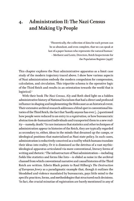 4.Administration II: The Nazi Census and Making Up People | Page 8