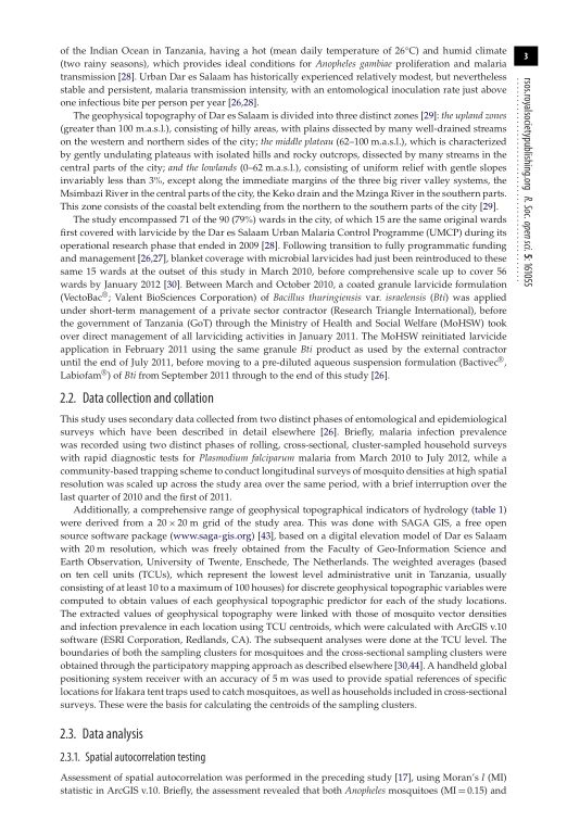 Data collection and collation | Page 3