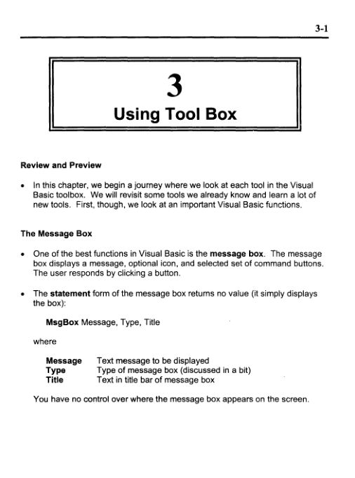 Using ToolBox   Page 4
