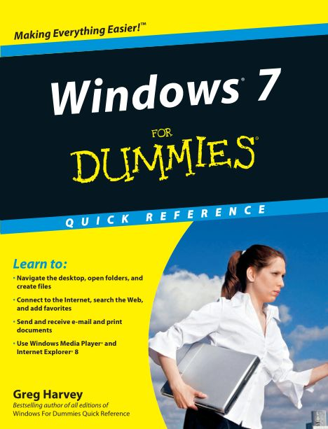Windows 7 for Dummies Quick Re - Greg Harvey_6290