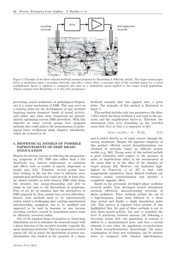Biophysical models of possible improvements of deep brain stimulation | Page 3