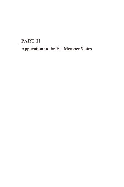 Part II: Application in the EU Member States | Page 8