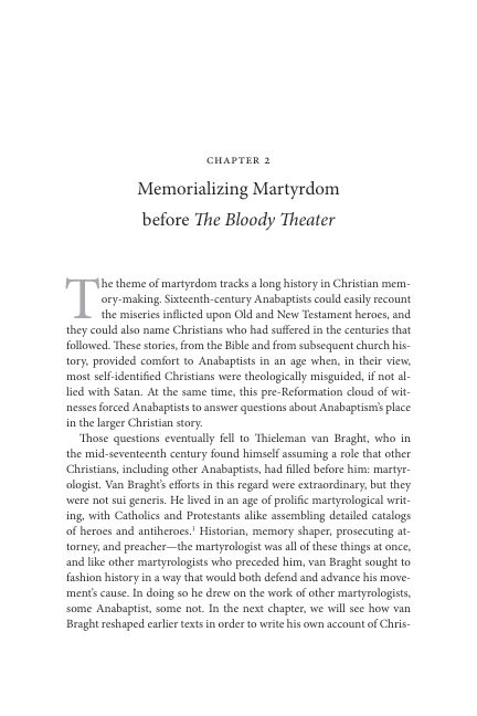 CHAPTER 2. Memorializing Martyrdom before The Bloody Theater   Page 8