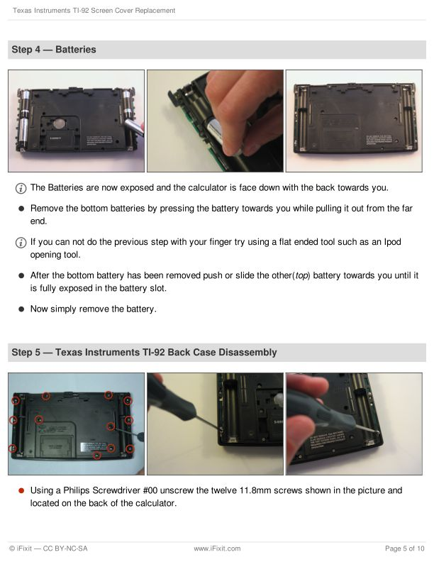 Step 4 — Batteries | Page 5