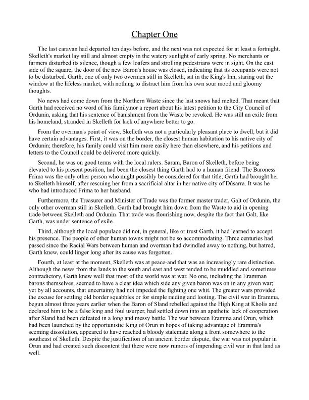 Chapter One   Page 0
