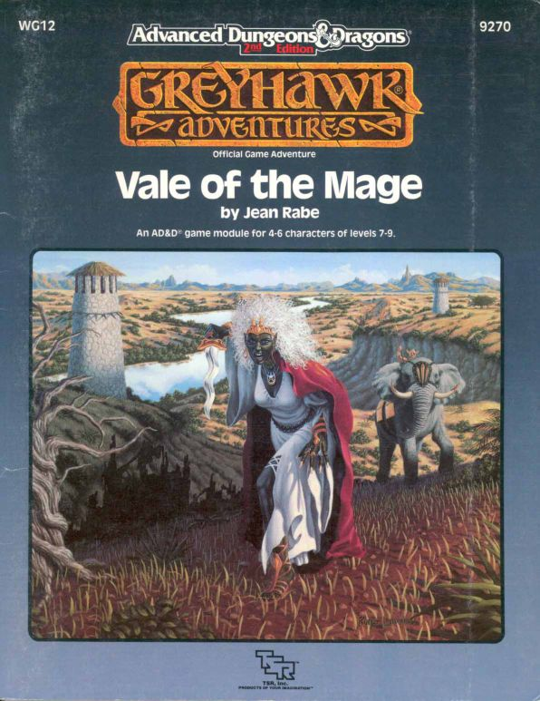 TSR 9270 WG12 Vale of the Mage