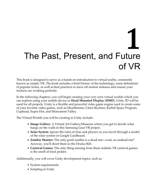 Chapter 1: The Past, Present, and Future of VR | Page 7