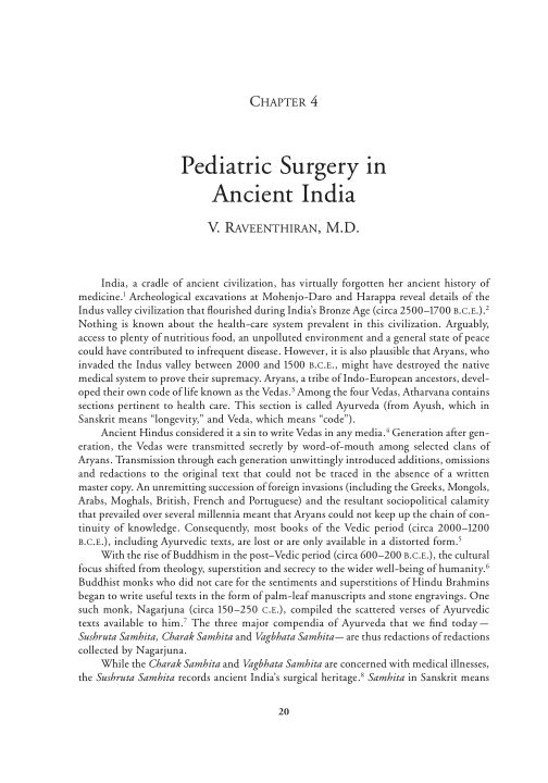 4. Pediatric Surgery in Ancient India   Page 8