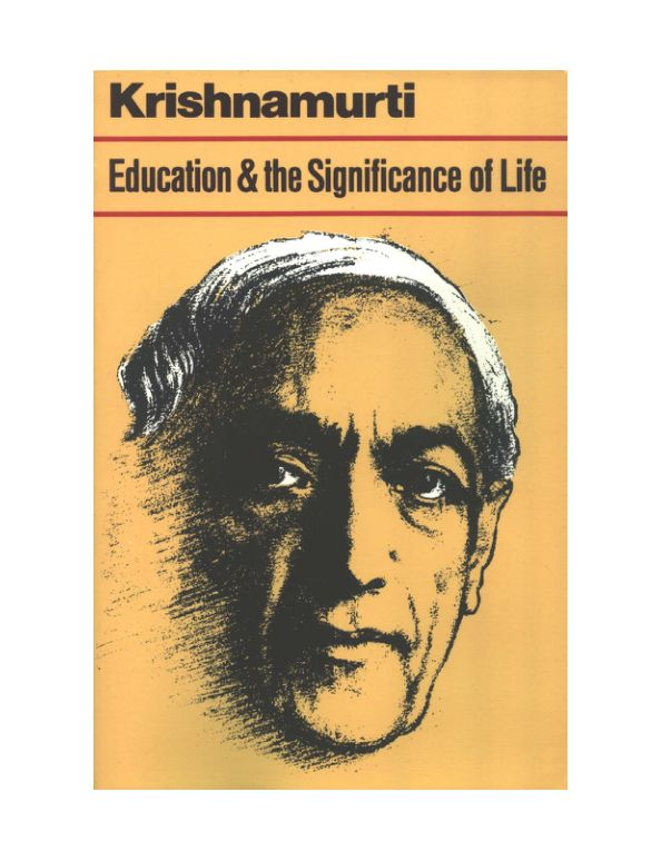 Education and the signification of life