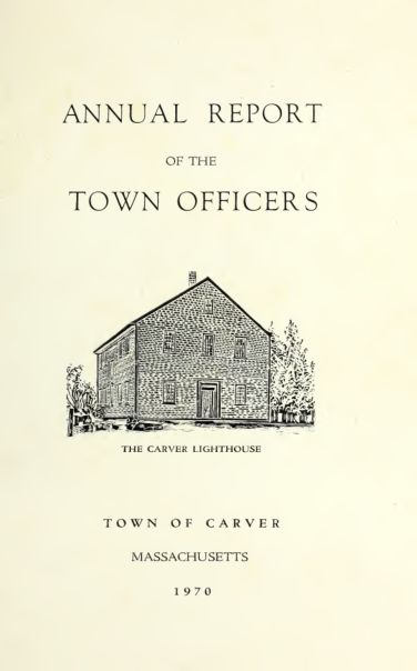 Annual town reports
