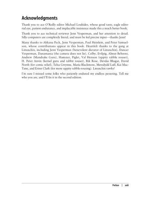 Acknowledgments   Page 8