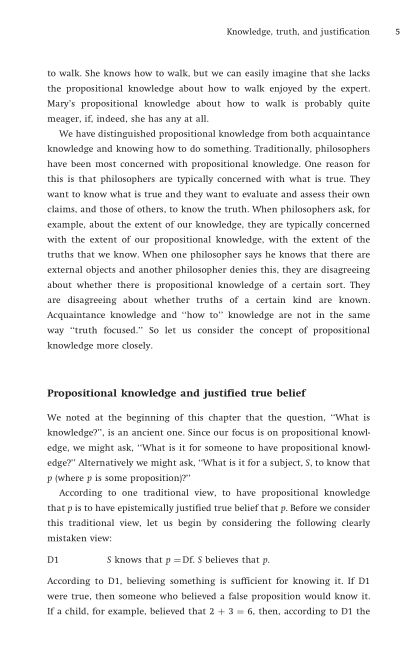 Propositional knowledge and justified true belief | Page 9