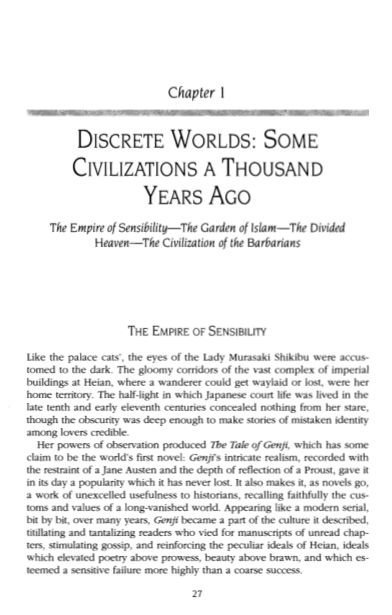 1  Discrete Worlds: Some Civilizations A Thousand Years Ago | Page 5