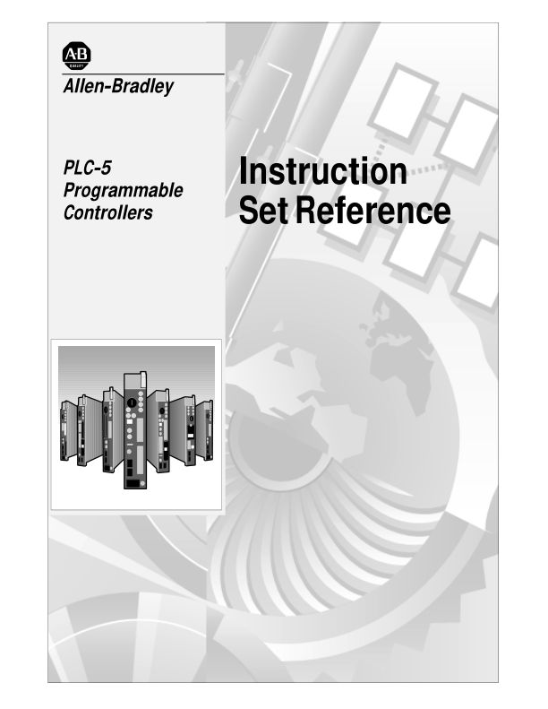 1785-6.1, PLC-5 Programmable Controllers Instruction Set Reference