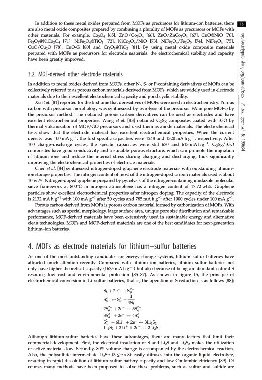 MOF-derived other electrode materials | Page 5