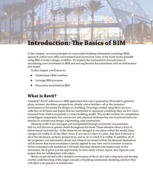 Chapter 1 Introduction: The Basics of BIM   Page 8