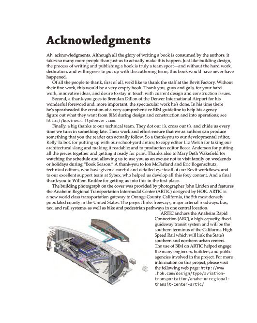 Acknowledgments   Page 1