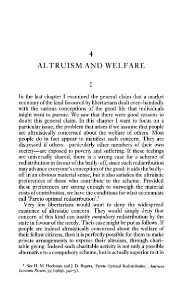 4. Altruism and Welfare   Page 7
