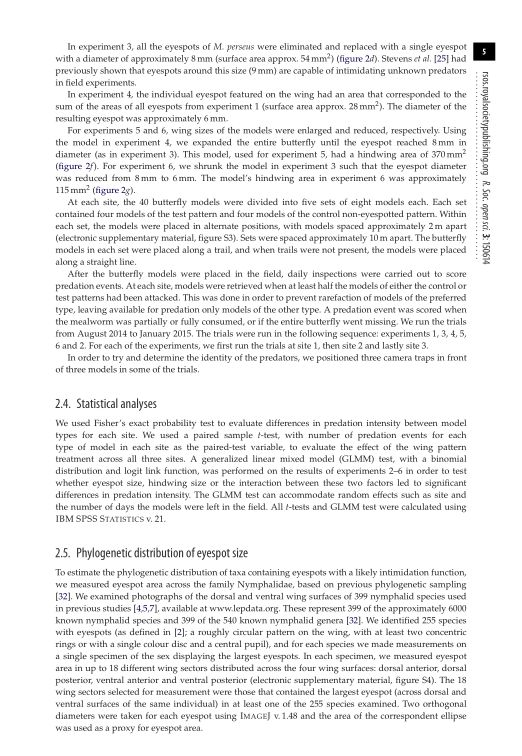 Statistical analyses | Page 4