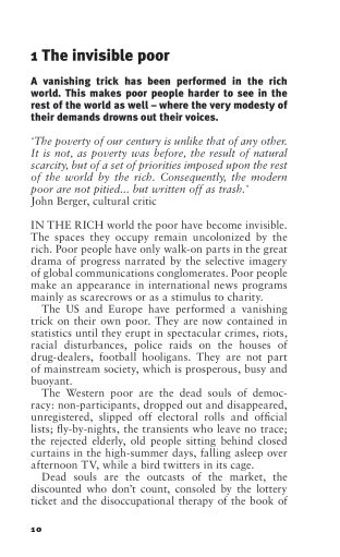 1. The invisible poor   Page 3