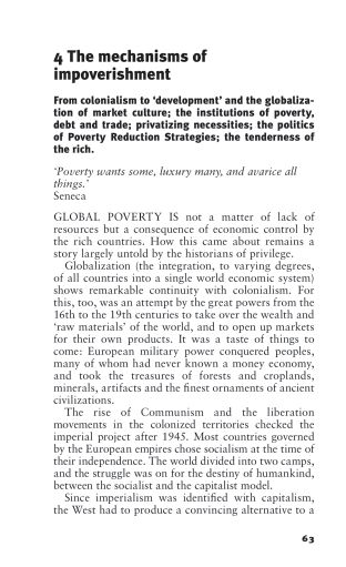 4. The mechanisms of impoverishment   Page 6