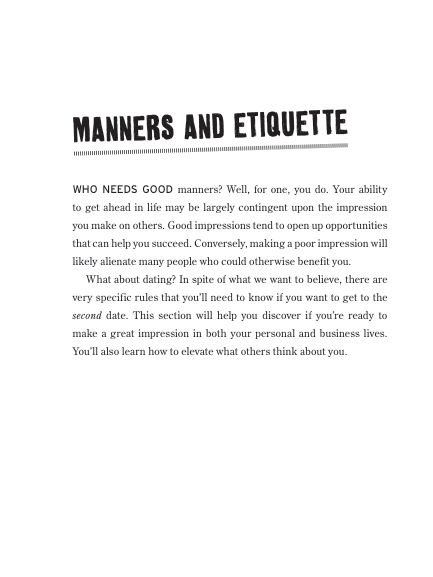 MANNERS AND ETIQUETTE | Page 6