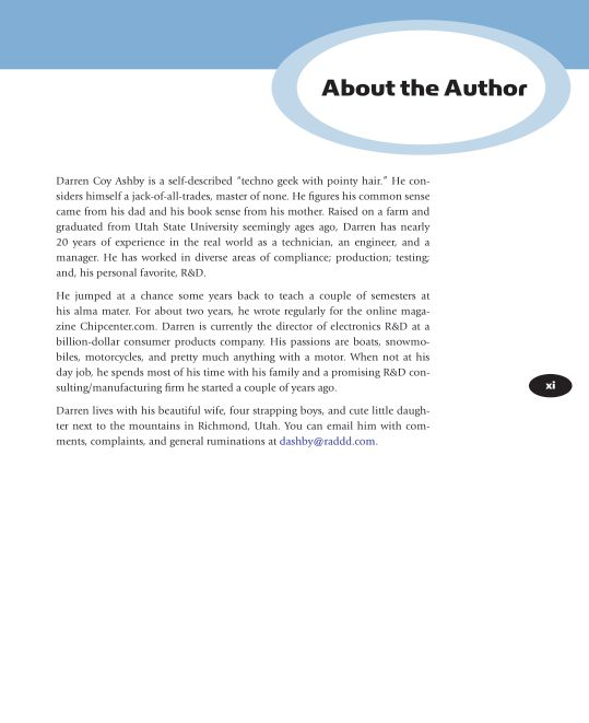 About the Author   Page 6