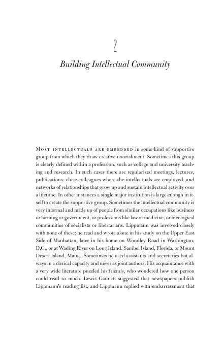 Chapter 2. Building Intellectual Community | Page 5