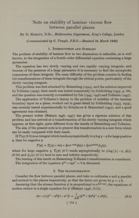 Note on stability of laminar viscous flow between parallel planes