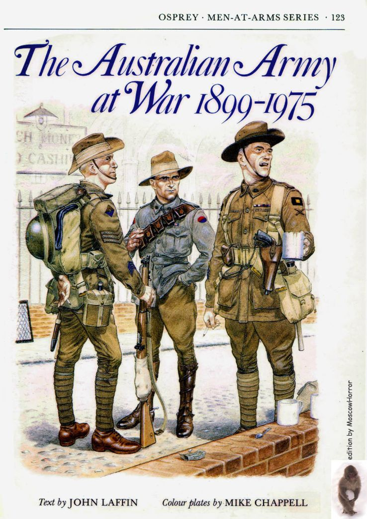 Osprey - Men at Arms 123 - The Australian Army At War 1899-1975 (Back Cover Missing)