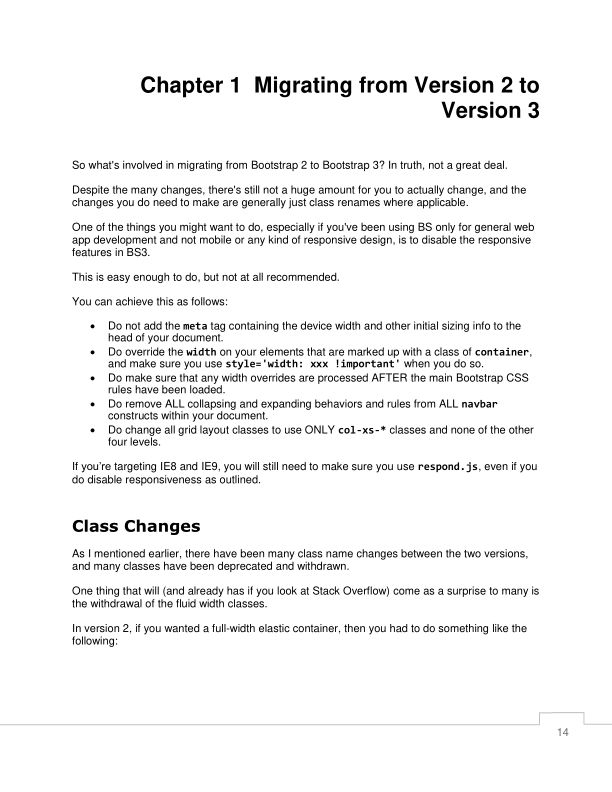 Chapter 1  Migrating from Version 2 to Version 3 | Page 7