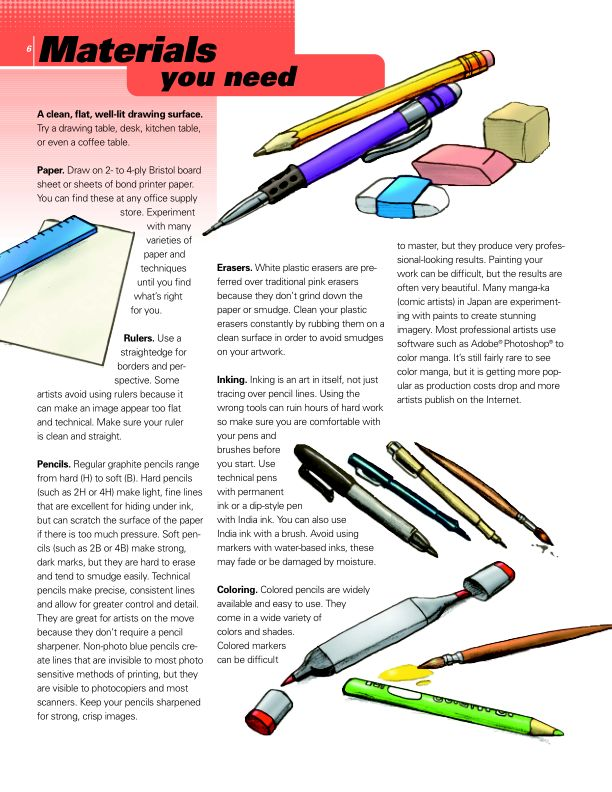 Materials You Need | Page 8