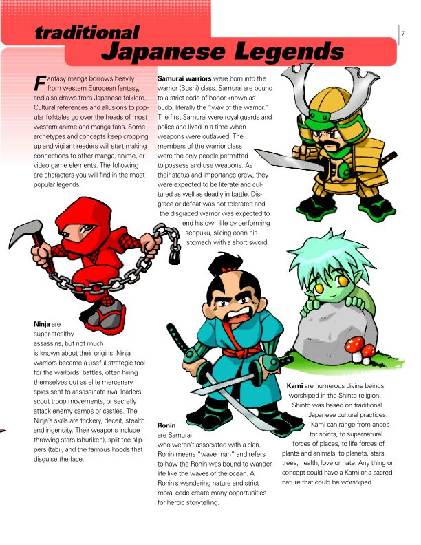 Traditional Japanese Legends | Page 9