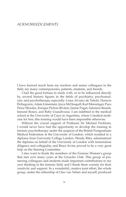 ACKNOWLEDGEMENTS | Page 1