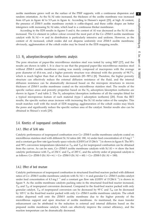N2 adsorption/desorption isotherms analysis   Page 8