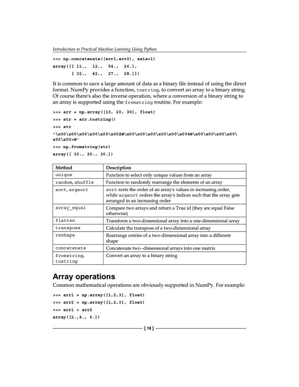 Array operations | Page 9