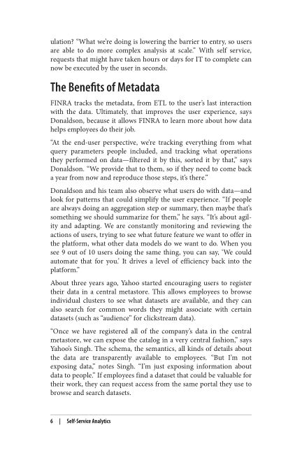 The Benefits of Metadata | Page 8