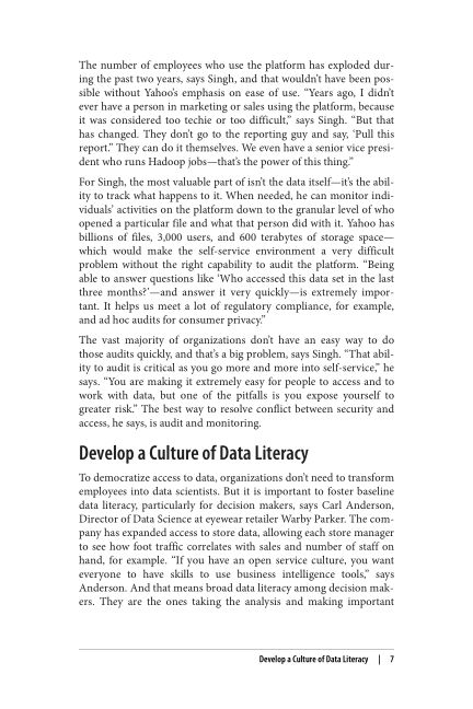 Develop a Culture of Data Literacy | Page 9