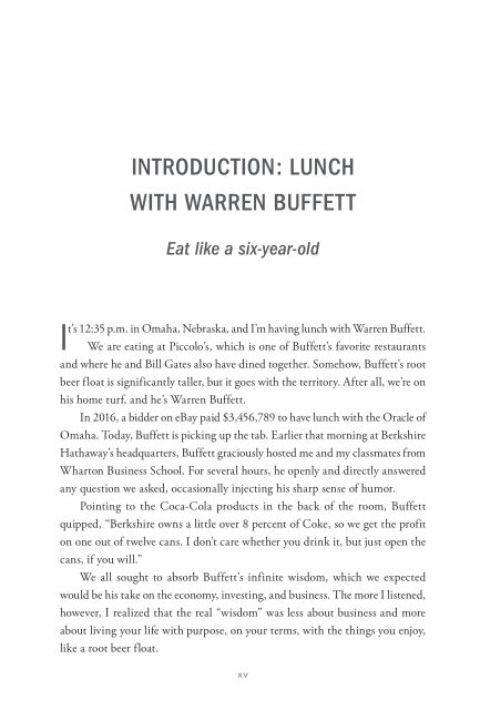 Introduction: Lunch with Warren Buffett | Page 5