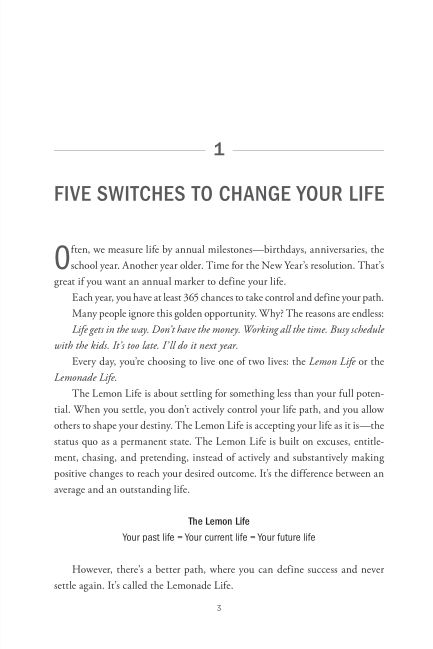Chapter 1: Five Switches to Change Your Life | Page 7