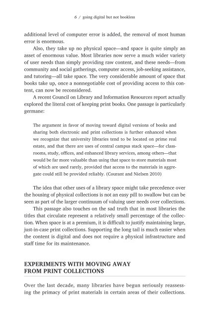Experiments with Moving Away from Print Collections | Page 7