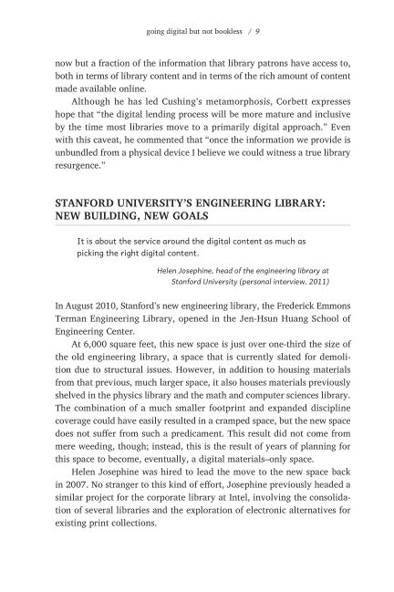 Stanford University's Engineering Library: New Building, New Goals | Page 9