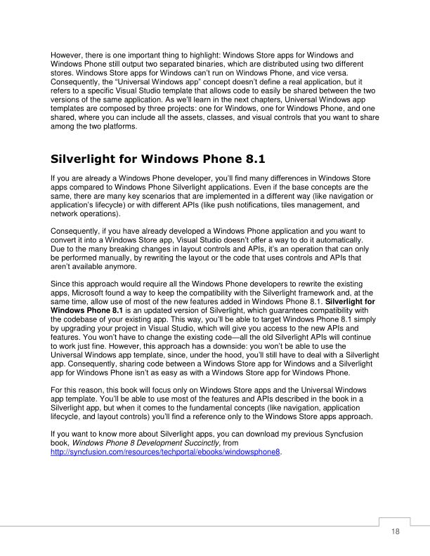 Silverlight for Windows Phone 8.1 | Page 8