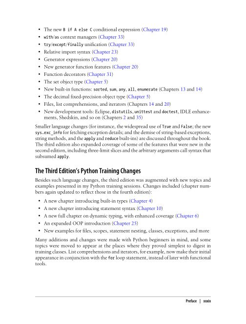The Third Edition's Python Training Changes | Page 10